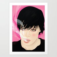 Crystal Castles - Alice Glass Art Print