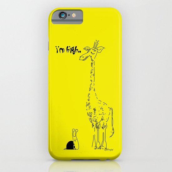 High Giraffe iPhone & iPod Case
