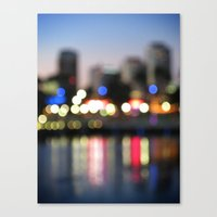 The City Never Sleeps Canvas Print