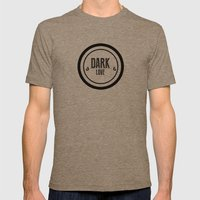 Dark Love Mens Fitted Tee Tri-Coffee SMALL