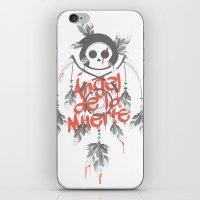 Angel De La Muerte - RED iPhone & iPod Skin