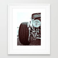Framed Art Print featuring Classic coup by Vorona Photography