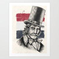 The Butcher Art Print