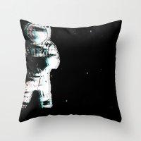 Spaced Dreams (Moon Trav… Throw Pillow