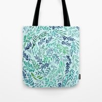 Wild Scattered Branches Tote Bag