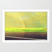 Rainbow Road Art Print