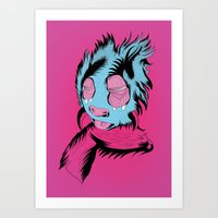 Funny Guy Art Print