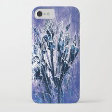 Thistle and Weeds_deep purple iPhone 7 Slim Case