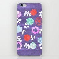 Daisy Dallop iPhone & iPod Skin
