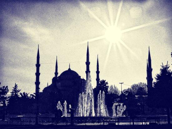 Blue Istanbul Art Print