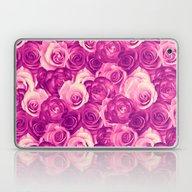Roses Carpet In Vintage … Laptop & iPad Skin