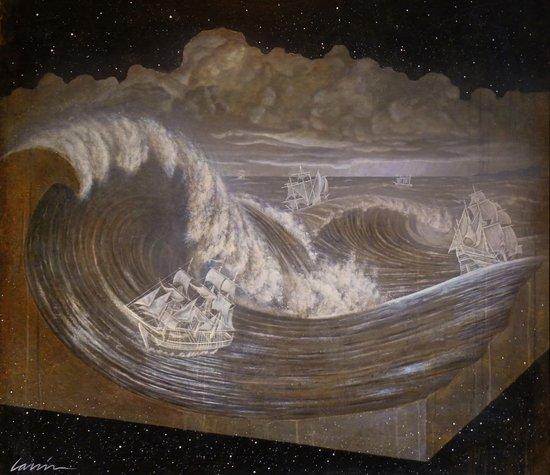 """Rogue Waves"" Art Print"