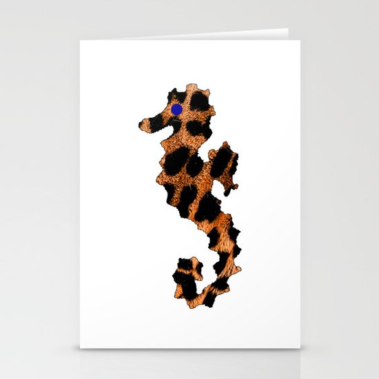 SEA LEOPARD Stationery Card