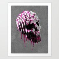 Cranium Art Print