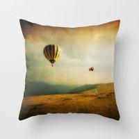 One Man's Dream Throw Pillow