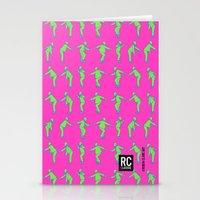 Rocksteady Man - Pink Stationery Cards