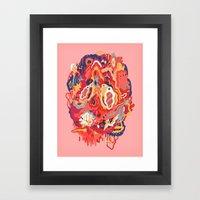 Head (Alternate) Framed Art Print