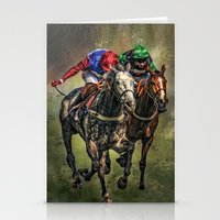 The Race Stationery Cards