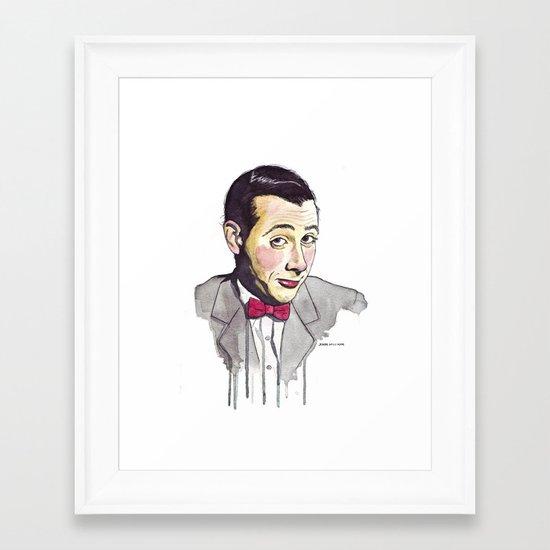 Pee Wee Framed Art Print
