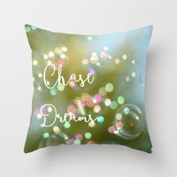 Chase Dreams Throw Pillow