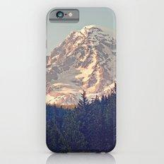 Mount Rainier Retro iPhone 6 Slim Case