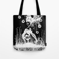 Swamp Lady Inverted Tote Bag