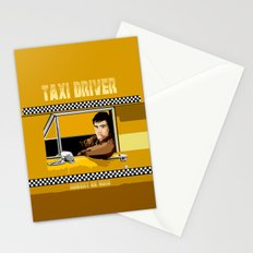Yellow Taxi driver Travis Bickle Robert De Niro iPhone 4 4s 5 5c, ipad, pillow case tshirt and mugs Stationery Cards