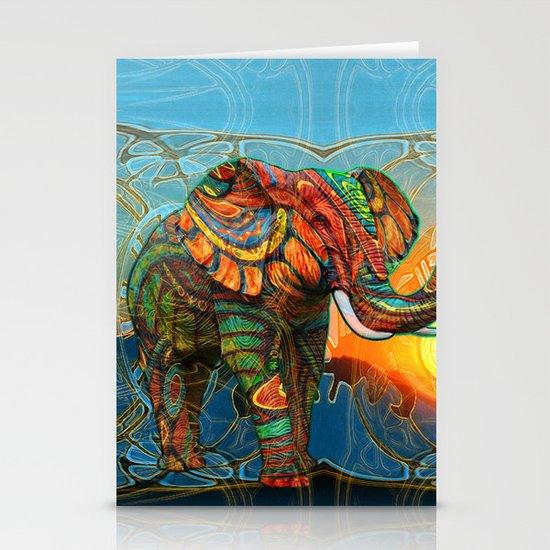 Elephant's Dream Stationery Card