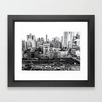 NYC Skyline Framed Art Print