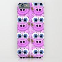 iPhone & iPod Case featuring Dirty Little Piggies by Digi Treats 2
