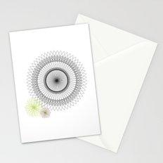 Modern Spiro Art #2 Stationery Cards