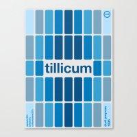 Tillicum Single Hop Canvas Print