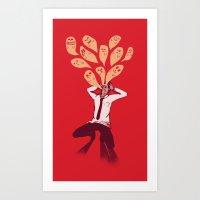 Overload Art Print