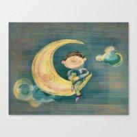 Dreamy Boy Canvas Print