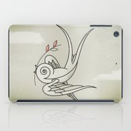 Peace Sparrow iPad Case