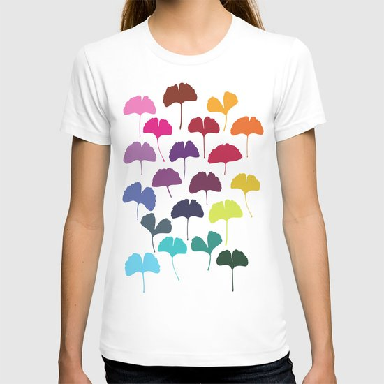 Ginkgo Multicolor T-shirt