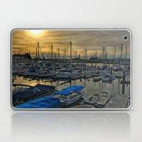 Sunset in Shoreline Laptop & iPad Skin