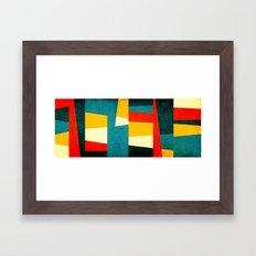 Formas 43 large Framed Art Print