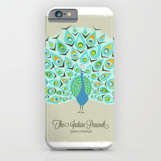 The Indian Peacock iPhone & iPod Case