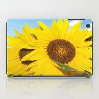 sunflower twins iPad Case
