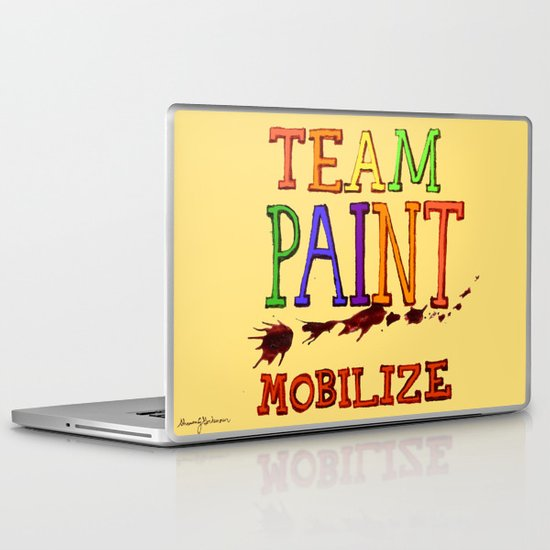 TEAM PAINT MOBILIZE Laptop & iPad Skin