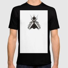 The fly Black Mens Fitted Tee SMALL