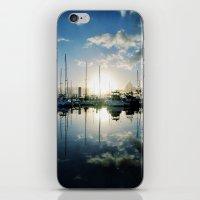 mirrored marina iPhone & iPod Skin