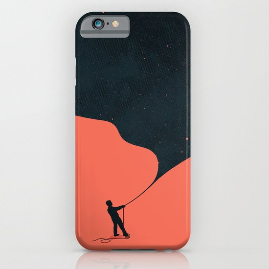 Night fills up the sky iPhone & iPod Case