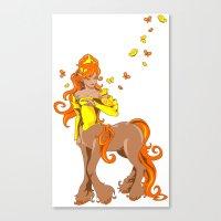 Female Centaur Canvas Print