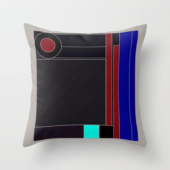 from chaos to order Throw Pillow