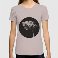 Bloom1 Womens Fitted Tee Cinder SMALL