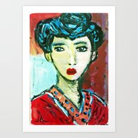 LADY MATISSE IN TEEN YEA… Art Print