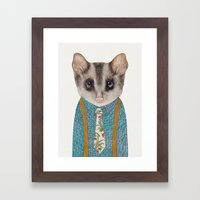 Possum Framed Art Print