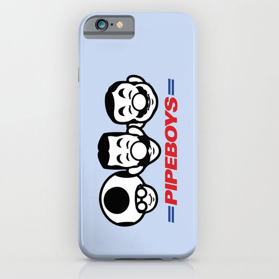 Pipe Boys iPhone & iPod Case